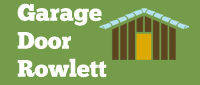 Garage Door Rowlett Logo