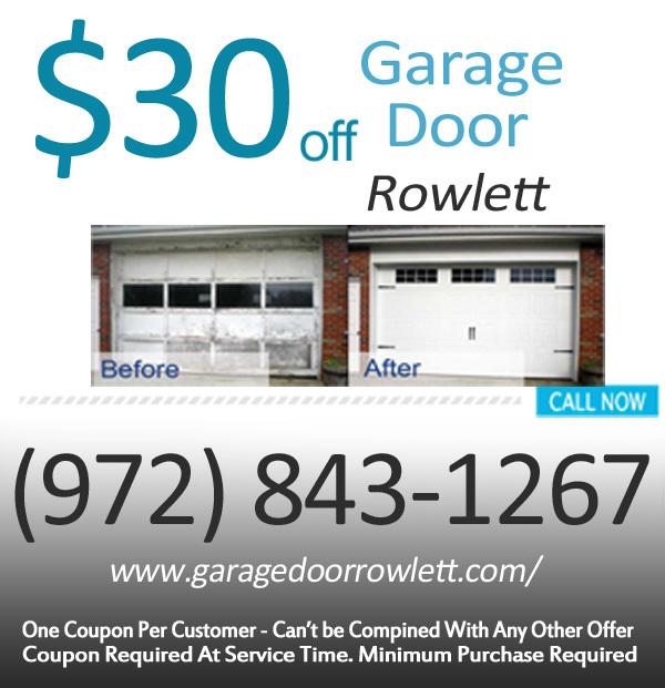 Garage Door Rowlett Spring And Panel Repair Rowlett Texas